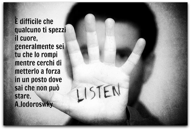 ascoltarsi